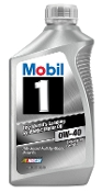 Mobil 1 Synthetic 0W40