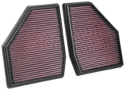 K&N 2018+ BMW M5 F90 Replacement Air Filter (Set of Two)