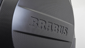 BRABUS Carbon Fiber Spare Tire Carrier Cover Gloss Mercedes Benz